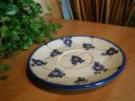 12 original saucers, polish pottery - BSN 2121 Picture 9