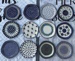 12 plates, Ø 20 cm, trad. 1-12 - BSN C002