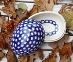 Tin as egg, 13 x 10 x 10 cm, Tradition 4 - BSN 5581 Picture 1