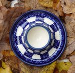 Eggcup plate, Tradition 27 - polish pottery - BSN 7194