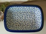 Ovenproof dish, 25 x 18 x 6 cm, Tradition 12 - polish pottery - BSN 5281
