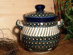 Garlic pot, 900 ml, Tradition 1 - polish pottery - BSN 5280