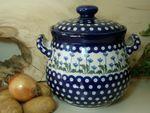 Zwiebeltopf, 3500 ml, 23 x 22 cm, Tradition 11 - Keramik Oberlausitz - BSN 5278