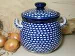 Zwiebeltopf, 3500 ml, 23 x 22 cm, Tradition 4 - polish pottery - BSN 5275