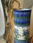 Blomstervase, 25 cm høj, Unik 7, Polsk Keramik retter, BSN 5215 Billede 3