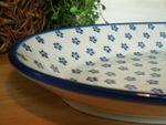 Magnifique plat en céramique de Bunzlau 45 x 27 cm grand modèle-Tradition 3 - BSN 2291 Image 3
