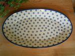 Magnifique plat en céramique de Bunzlau 45 x 27 cm grand modèle-Tradition 3 - BSN 2291 Image 2