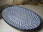 Plate, 29,5 x 18 cm - Tradition 24 - polish pottery - BSN 10589