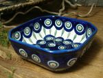 Bowl, 12,5 x 12,5 cm, 5 cm high, Tradition 10 - polish pottery - BSN 5362