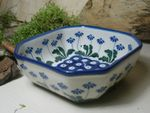Bowl, 12,5 x 12,5 cm, 5 cm high, Tradition 11 - polish pottery - BSN 5415 Picture 2