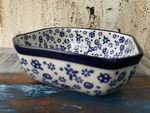 Bowl, 12,5 x 12,5 cm, 5 cm high, Tradition 12 - polish pottery - BSN 5416 Picture 3