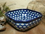 Bowl, 12,5 x 12,5 cm, 5 cm high, Tradition 4 - polish pottery - BSN 5411