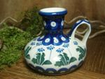 Candlestand, height approx. 9,5 cm, Tradition 11 - polish pottery - BSN 7295