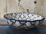Bowl with rippled side, Ø 24 cm, high 6 cm, Tradition 25 - BSN 7910