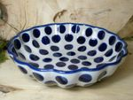 Bowl with rippled side, Ø 24 cm, high 6 cm, Tradition 28 - BSN 7907
