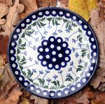 Plate, Ø 25,5 cm, Tradition 11 - polish pottery - BSN 2584