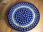 Plate, Ø 25,5 cm, Tradition 6 - polish pottery - BSN 2345