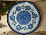 Plate, Ø 25,5 cm, Tradition 9 - polish pottery - BSN 1036