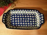 Bowl, 32 x 18 cm, high 5 cm, Tradition 10 - polish pottery - BSN 1192 Picture 4