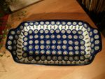 Bowl, 32 x 18 cm, high 5 cm, Tradition 10 - polish pottery - BSN 1192 Picture 2