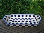 Bowl, 32 x 18 cm, high 5 cm, Tradition 28 - polish pottery - BSN 15415 Picture 2