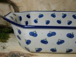 Oven dish - 36 x 21,5 x 9 cm, original polish pottery - Tradition 22 - BSN 21737 Picture 2