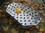 Oven dish - 36 x 21,5 x 9 cm, original polish pottery - Tradition 22 - BSN 21737 Picture 4