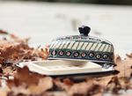 Butter dish, 250 g, Tradition 1 - polish pottery - BSN 0530 Picture 2