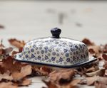 Butter dish, 250 g, Tradition 12 - polish pottery - BSN 2699 Picture 4