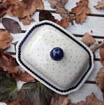 Butter dish, 250 g, Tradition 26 - polish pottery - BSN 6880 Picture 4