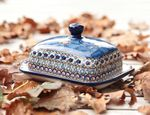 Butter dish, 250 g, unique 4 - polish pottery - BSN 2711