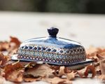 Butter dish, 250 g, unique 4 - polish pottery - BSN 2711 Picture 3