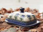 Butter dish, 250 g, unique 7 - polish pottery - BSN 1677