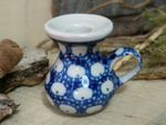 Candelstick - high 4 cm for dolls - Tradition 4- polish pottery - BSN 5861