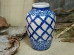 Beautiful for dolls original Polish Pottery Vase 6 cm - Tradition 2 - BSN 6922