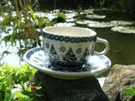 3er set cup with saucer, Tradition - BSN S-012 Picture 2
