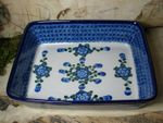 Ovenproof dish, 29 x 23 x 7 cm, Tradition 9 - polish pottery - BSN 0444 Picture 2