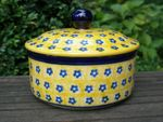 Box / Tin, 450 ml Vol., Tradition 20 - polish pottery - BSN 10635 Picture 2