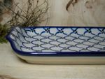 Plate, 32 cm x 14,5 cm, Tradition 25 - polish pottery - BSN 200010 Picture 2