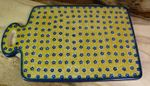 Breakfast board, 29.5 x 18.5 cm tall, Tradition 20 - polish pottery - BSN 7848