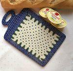 Frühstücksbrettchen, 29,5 x 18,5 cm gross, Unikat 57, BSN 10522