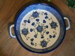 Bowl / dish with handle, Ø 27 cm, 5,5 cm high, Tradition 9 - polish pottery - BSN 0428 Picture 4
