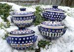 4 soup pot with lid, 16 x 12 x 9 cm, BSN m-4218