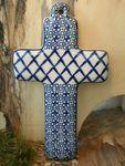 Cross, 21 x 12 cm, Tradition 2 - polish pottery - BSN 4012