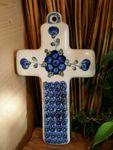 Cross, 21 x 12 cm, Tradition 9 - polish pottery - BSN 0434