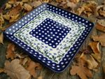 Plate, 28 x 28 cm, Tradition 11 - polish pottery - BSN 92055 Picture 2