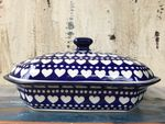 Serving dish, 26x20,↑12 cm, I you too, BSN s-444