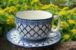 XL cup with saucer, 375 ml vol., Tradition 2, BSN y-050