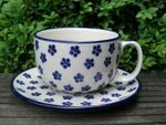 XL cup with saucer, 375 ml vol., Tradition 3, BSN y-049