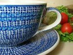 XXL cup / saucer, 4000 ml, Tradition - polish pottery - BSN 6155